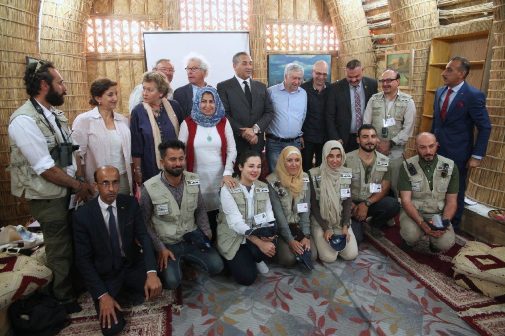 Meeting with the Iraqi Vice-Minister of Environment